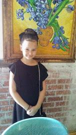 Sophia at 8 years old