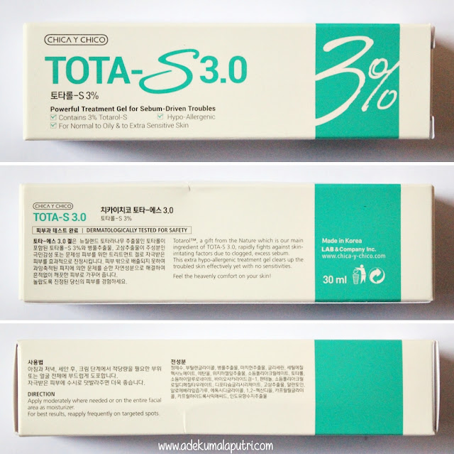 Chica Y Chico Tota-S 3.0 Review - Box