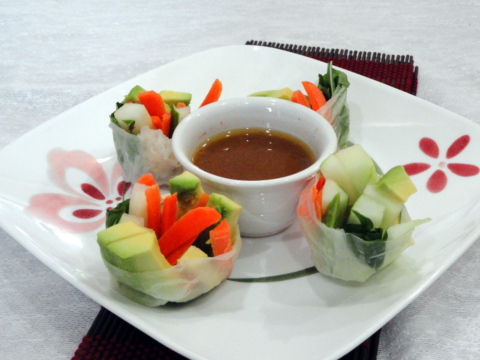 As Good As Gluten: Cucumber and Avocado Summer Rolls with ...