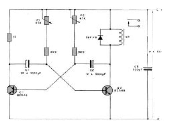 Circuito Led Intermitente : Solidworks diseÑo y proyectos circuito rele intermitente