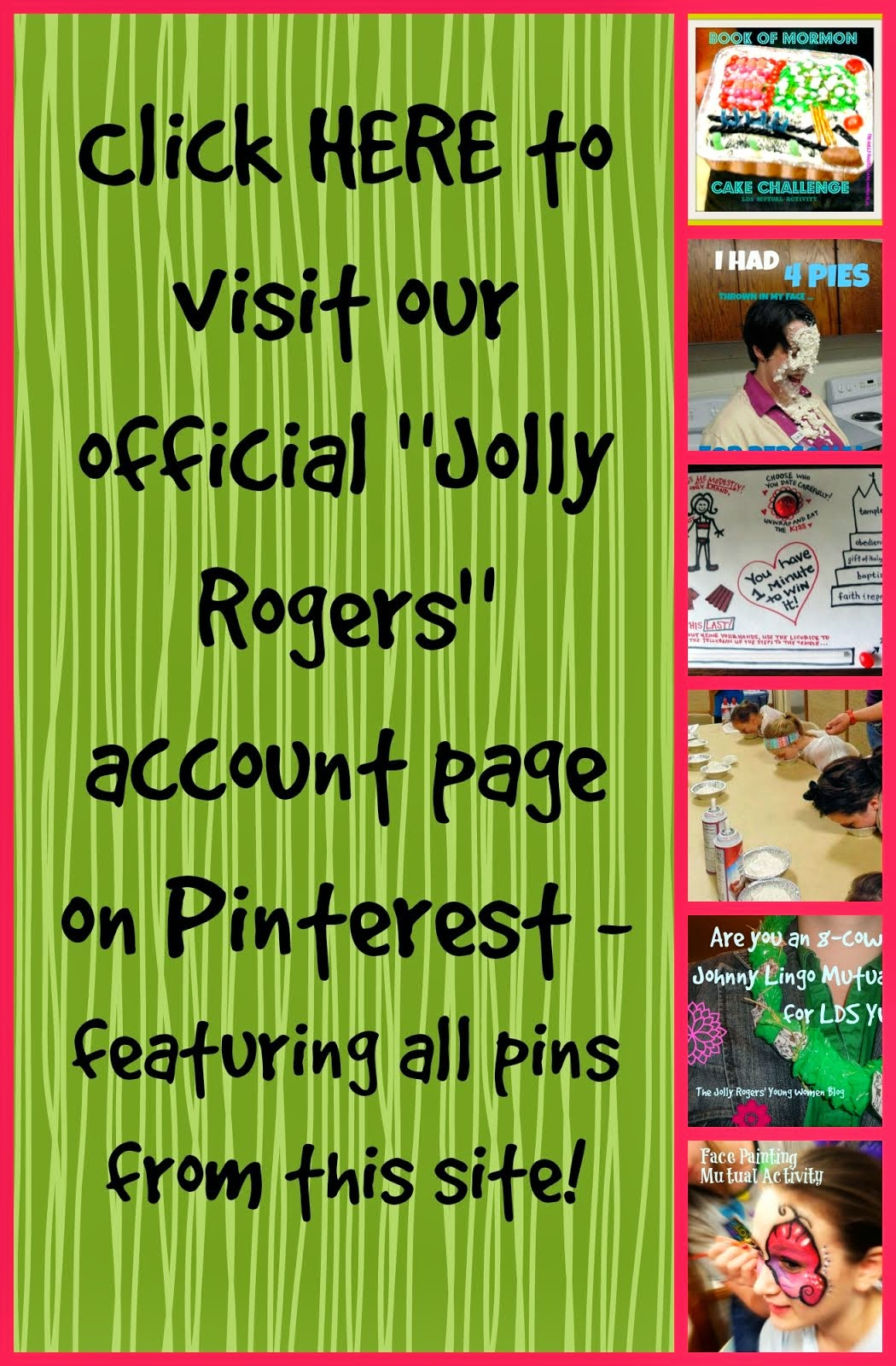Visit us on Pinterest!