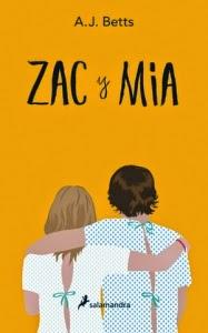 Zac y Mia - Portada