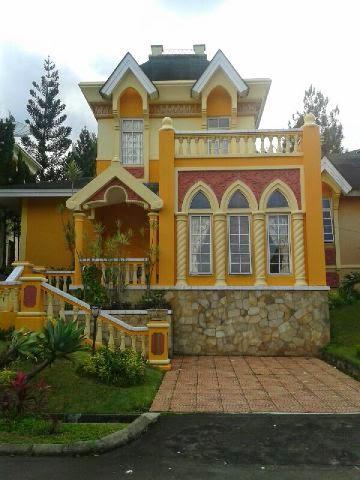 SEWA VILLA KOTA BUNGA - sewa villa di puncak murah