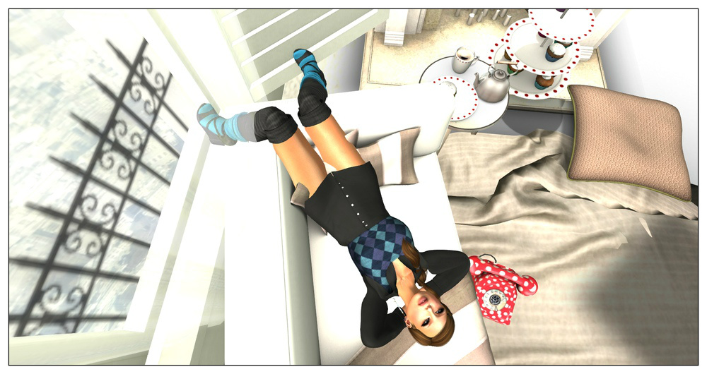 second life schoolgirl mesh outfit 2