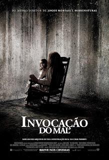 """Poster do filme """"Invocação do Mal"""""""