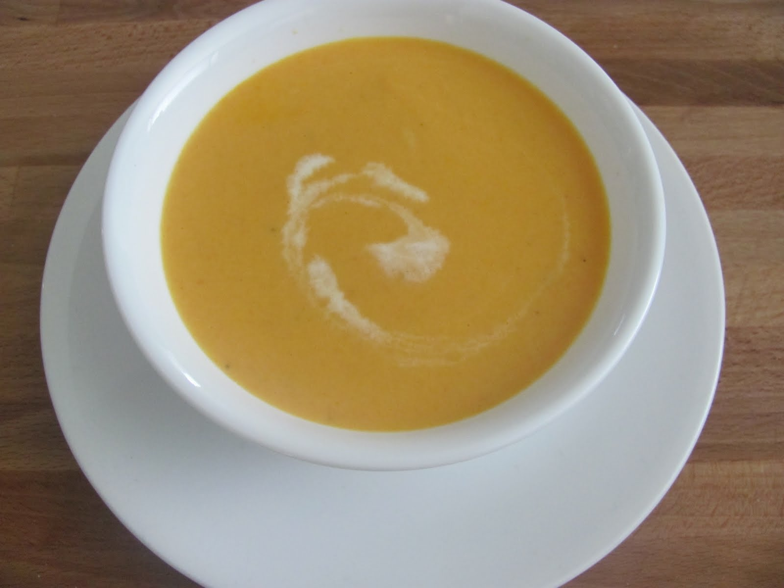 Living Life Happy - My Way...: A Simple Cream of Carrot Soup
