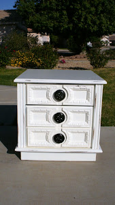 Shabby Distressed Nightstand  *SOLD*