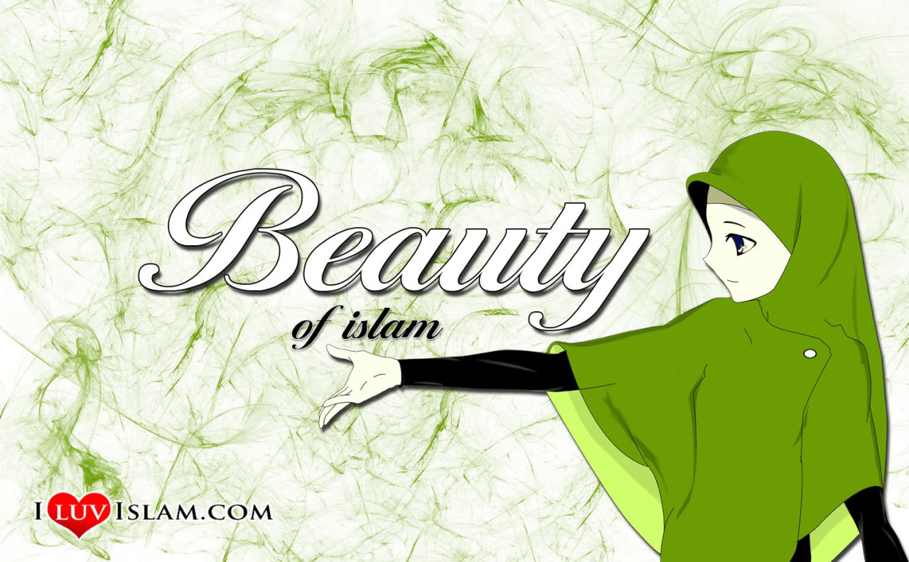 1001 Foto Animasi Muslimah Cantik Galau Anggun & Malu