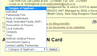 apply pan card in arunachal pradesh