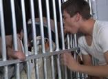 Arrombado pelos guardas da prisão