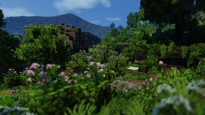 Amazingly Accurate Recreation Of The Shire In Minecraft