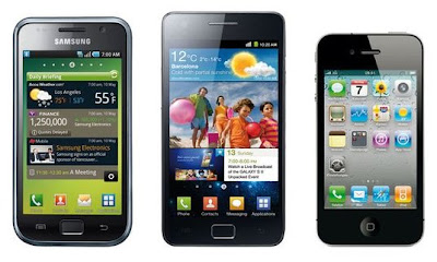 iPhone vs. Samsung Galaxy