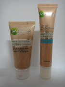 Left: Garnier Miracle Skin Perfector (original), Right: Garnier BB Cream .
