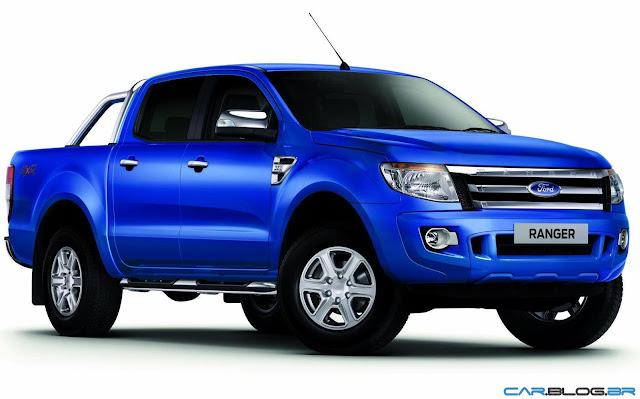 Nova Ford Ranger 2013 XLT Limited 3.2 Diesel - azul
