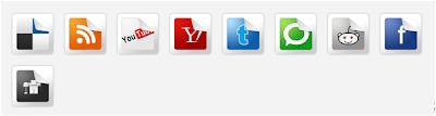 memasang widget sosial media dengan efek peel (terkelupas) di blog