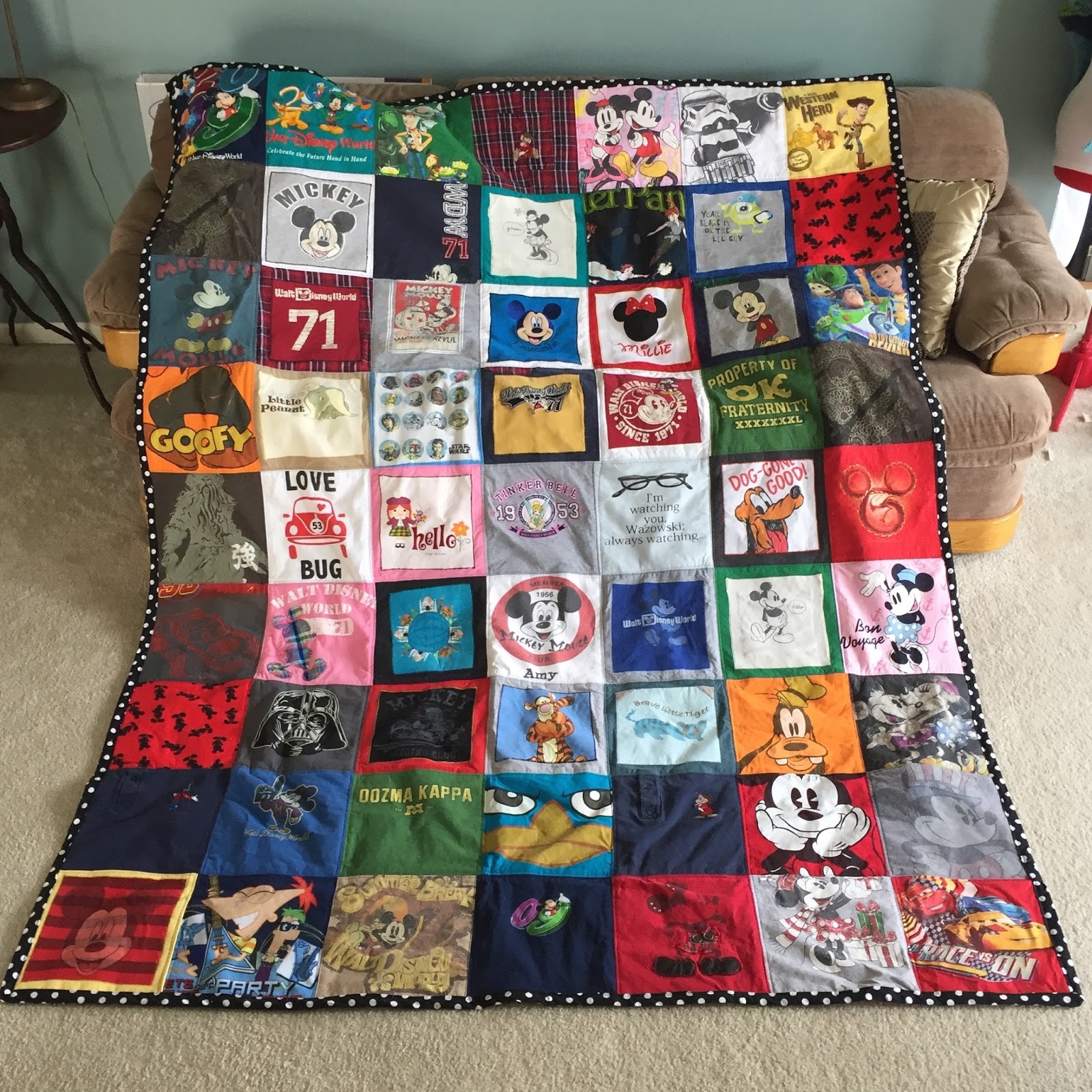 39 tshirt quilt patterns the funky stitch for How much does it cost to make custom t shirts