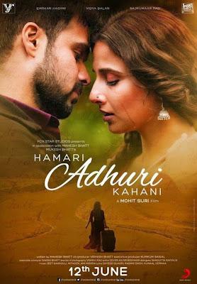 Hamari Adhuri Kahani 2015 Hindi DVDRip 480p 350mb Esub