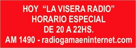 HOY NO TE PIERDAS LA VISERA RADIO