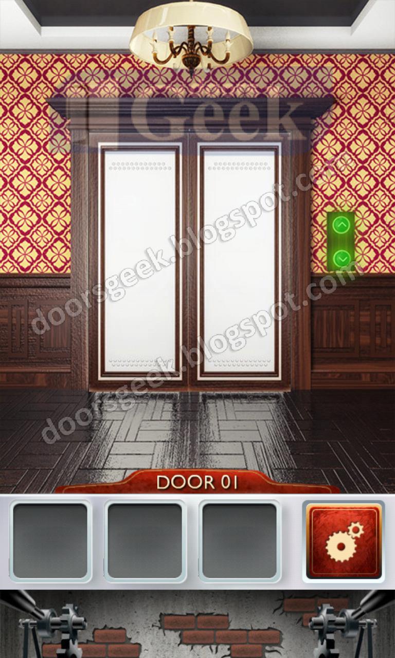 100 doors 2 level 1 doors geek for 100 doors door 9 solution