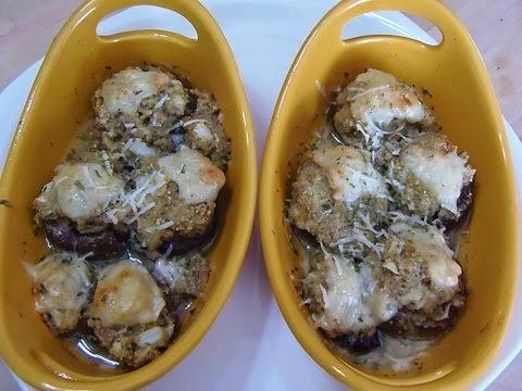 Taste see stuffed mushrooms olive garden copycat for Olive garden stuffed mushroom recipe
