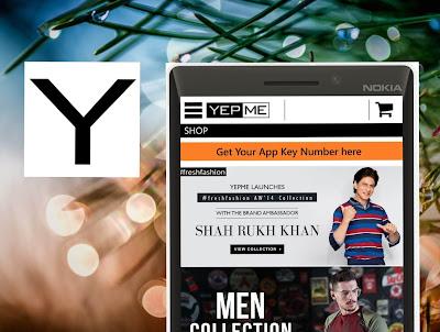 Yepme android app