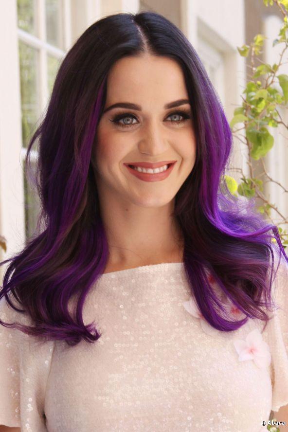 Katy Perry: Katy Perry Purplehair