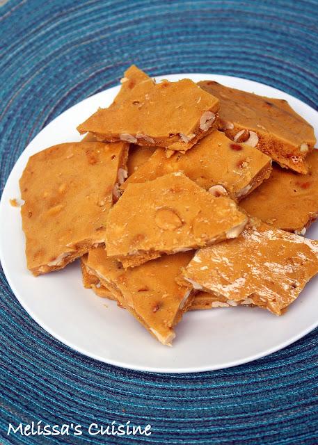Melissa's Cuisine: Peanut Brittle