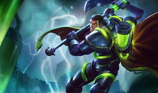 Bioforge Darius Skin