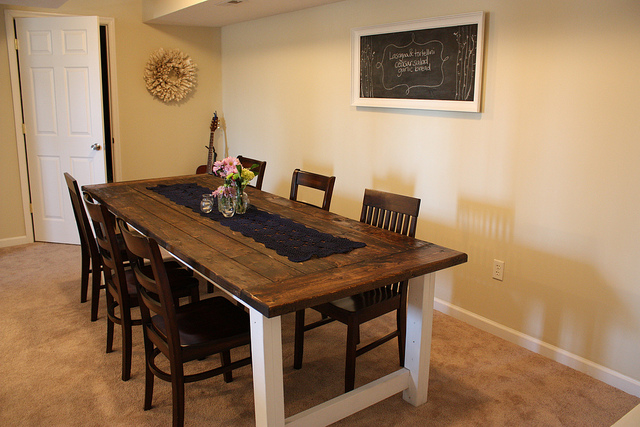 Building a dining table plans woodworktips How to build a farmhouse