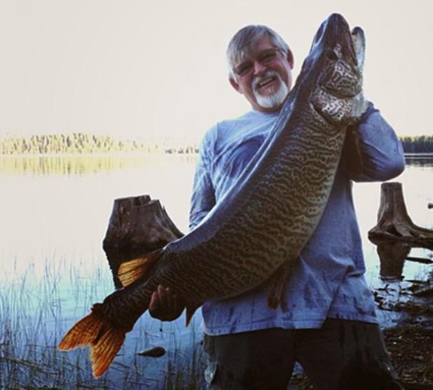 Mondo pesca news usa record del mondo per il tiger musky for Grosso pesce di lago