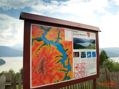 Harta Lacul Izvorul Muntelui