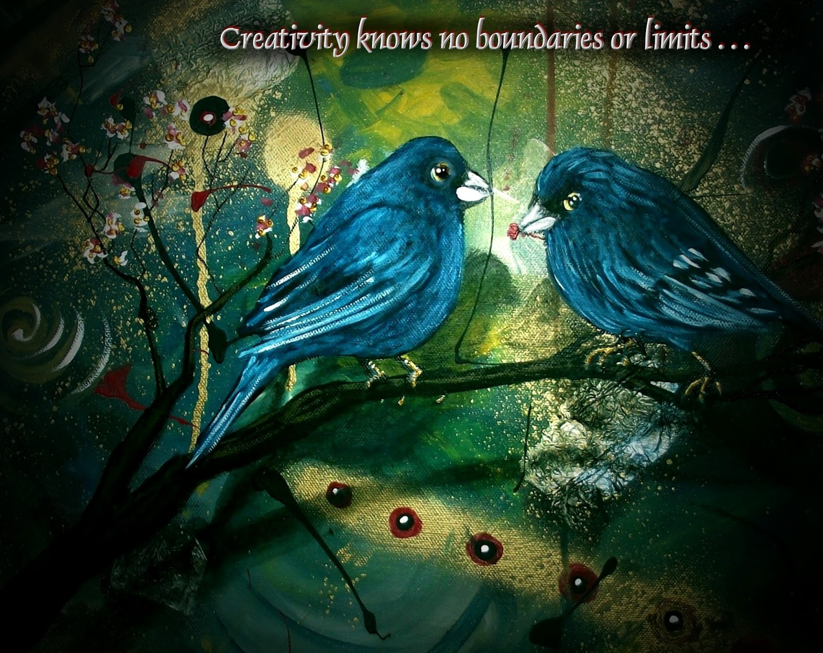 Blue Birds Images