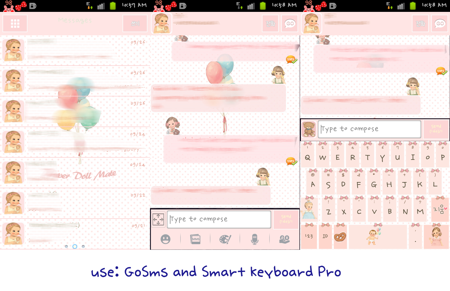 Google themes cute