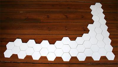 49 hexagons