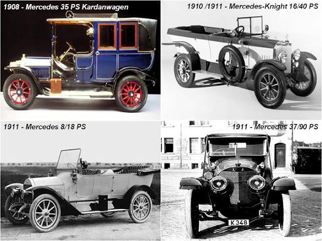 1908 Mercedes 35 PS