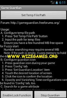 GameGuardian v6.0 APK Tutorial EASY ~ WIZEGAMES.ORG