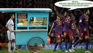 Lucu, Foto Ronaldo Jualan Bakso
