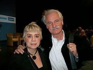 *Morgane BRAVO & M. Yann Arthus-BERTRAND, Président Fondateur de Good Planet*