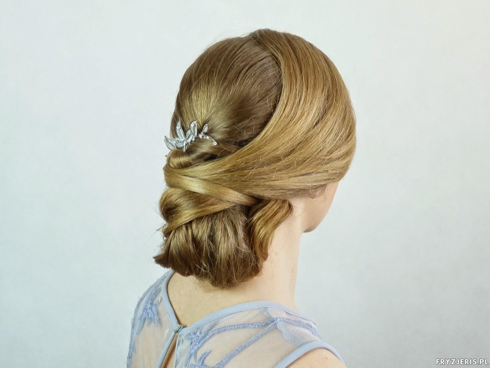 fryzura ślubna