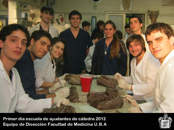 Equipo de Diseccion Dr. V.H.Bertone - 2ª catedra de Anatomia U.B.A
