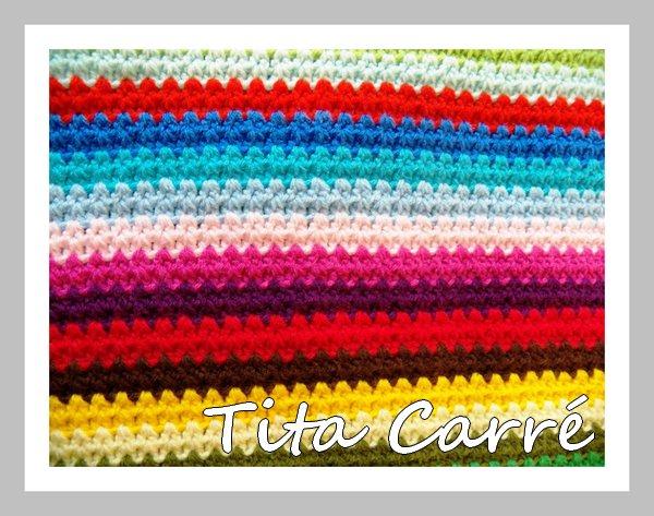 Colcha multicolorida em crochet um pouquinho diferente