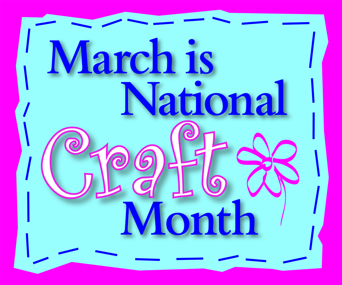 cropstop march national craft month challenge