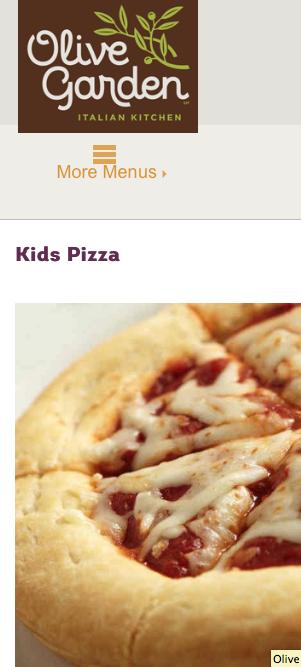 Arizona Families Free Kids Meal Coupon At Olive Garden