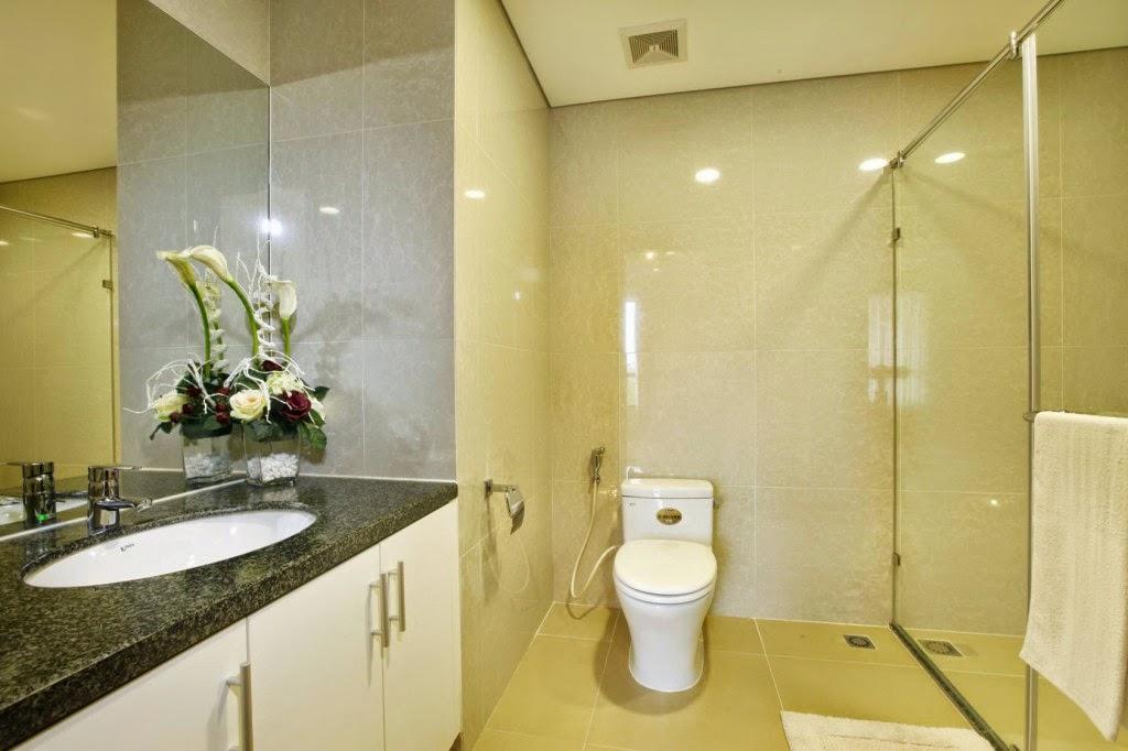 Phòng WC căn hộ tòa T11 Times City