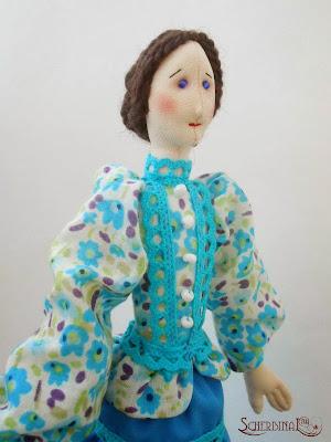 текстильная кукла Кубанская Казачка