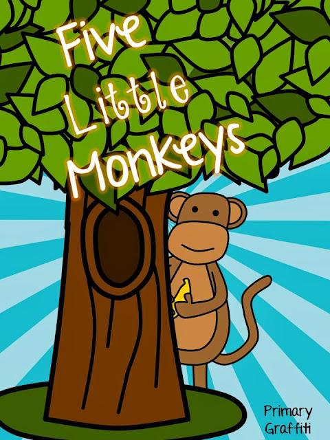 http://www.teacherspayteachers.com/Product/Five-Little-Monkeys-Final-e-Freebie-984453