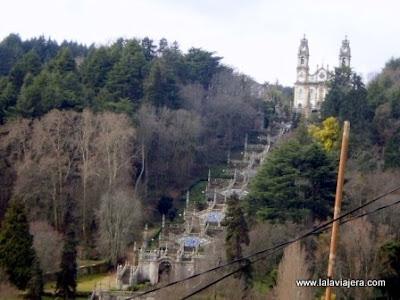 Santuario Remedios, Lamego, Portugal