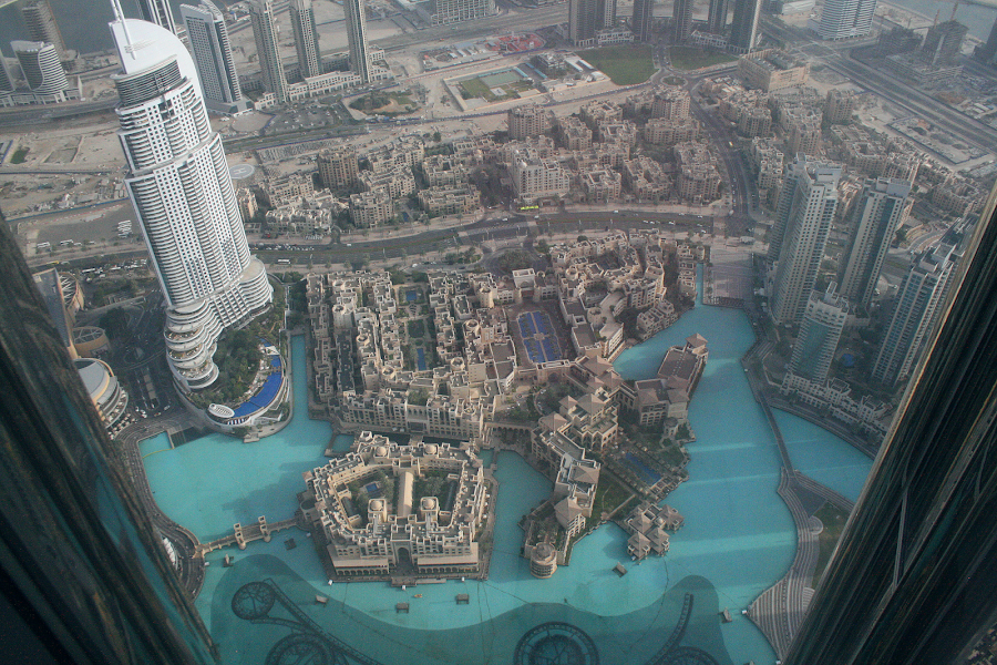On top of Burj Khalifa