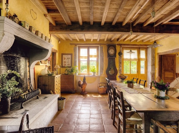 Eye For Design: Yellow Interiors..Always Cheerful