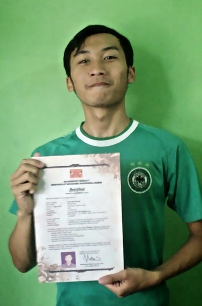Akhirnya Bisa Dapat Sertifikat Blogger Indonesia, jurnal rozak, adamssein media tm